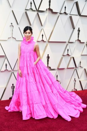 HOLLYWOOD, CALIFORNIA - FEBRUARY 24: Gemma Chan attends the 91st Annual Academy Awards at Hollywood and Highland on February 24, 2019 in Hollywood, California. (Photo by Frazer Harrison/Getty Images)